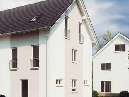 Bauen Sie eine Doppelhaushälfte mit massa haus