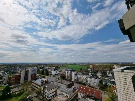 Köln - Porz- - 2 Zimmerwohnung mit herrlicher Fernsicht, renoviert und möbliert, sofort frei