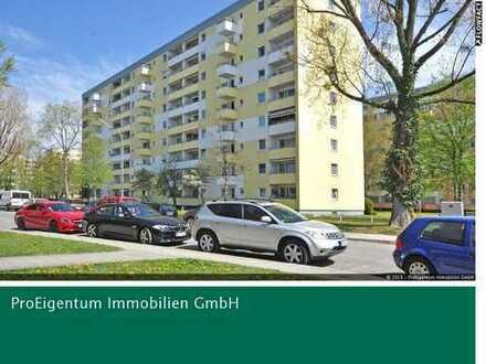 Feldmoching: Top geschnittenes Apartment mit Westbalkon & separater EBK mit Fenster