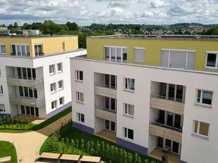 hochwertige 2-Zimmer-Wohnung im Dachgeschoss   NEUBAU