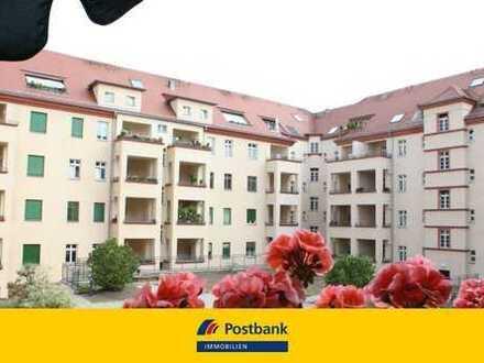 Ideal als Kapitalanlage: Vermietete Zwei-Zimmer-Wohnung mit Denkmalschutz