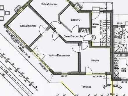 Gepflegte 4-Zimmer Niedrigenergiewohnung im EG mit großer Terrasse in Triftern