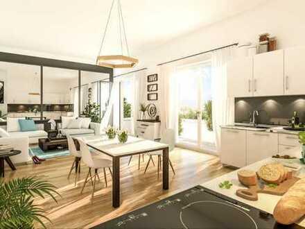 Ganz oben! 3-Zi.-Wohnung mit hochwertiger, zeitgemäßer Ausstattung, Balkon und Süd-Terrasse