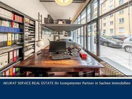 AkuRat Service - Ladenloft mit großer Schaufensterfront in M.-Maxvorstadt