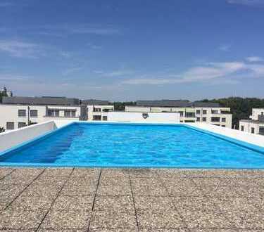 Tolle 3 Zimmerwohnung mit Rooftop Pool