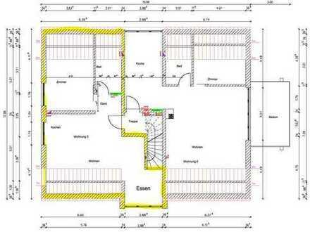 NEUBAU - Erstbezug: schöne 2-Zimmer-DG-Wohnung mit gehobener Innenausstattung in Kaufbeuren