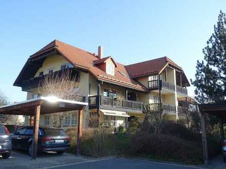Kapitalanleger aufgepasst! Vermietete 1-Zimmerwohnung mit Balkon in ruhiger Lage von Höckendorf