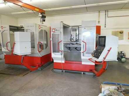 Hochwertiger Maschinenbaubetrieb incl. CNC-Maschinen
