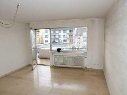 Zentral gelegene 2 Zimmer Wohnung mit Balkon und TG-Stellplatz in Beuel!