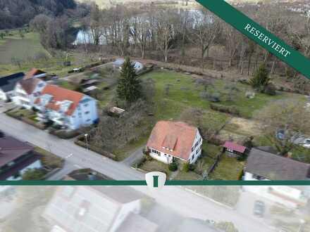 1-2 Familienhaus auf teilbarem Grundstück (Bauland) in bevorzugter Wohnlage nahe zum Steißlinger See