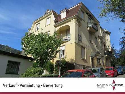 Jugendstilvilla am Annaberg: 2-ZKB- Wohnung mit Balkon, Aussicht, Stellplatz.