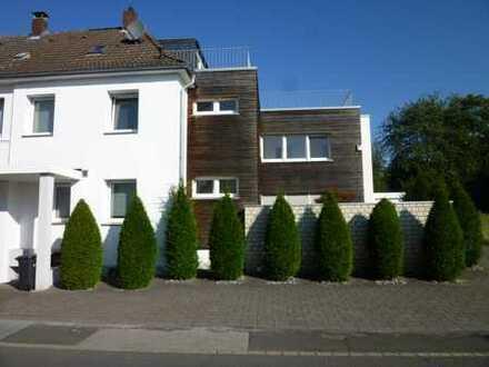 Hochwertiges, modernes Einfamilienhaus mit außergewöhnlicher Dachterrasse in Dortmund-Sommerberg