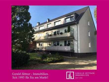 Bottrop-Eigen: Schöne Dachgeschosswohnung mit Gartennutzung in guter Wohnlage