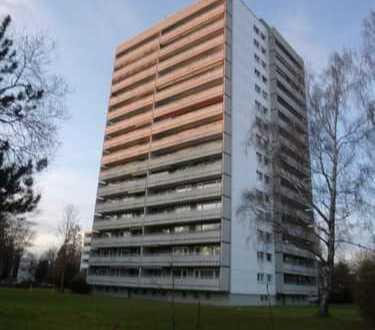 2-Zimmer-Wohnung mit schöner Aussicht (renovierungsbedüftig)