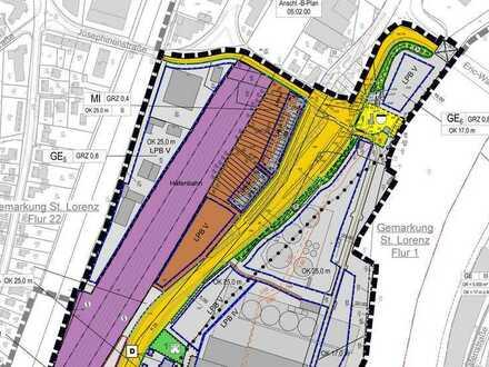 GEWERBE-GRUNDSTÜCK - ca. 5.400 m² in verkehrsgünstiger Lage zu vermieten