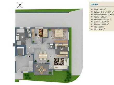 3 Zi.- EG Neubau in Renningen- Malmsheim, KfW 55, Wohnung 2