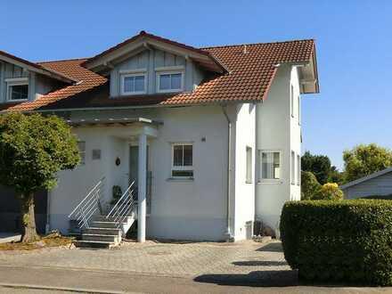 Schutterwald; Doppelhaushälfte mit Garten in Süd-Westlage