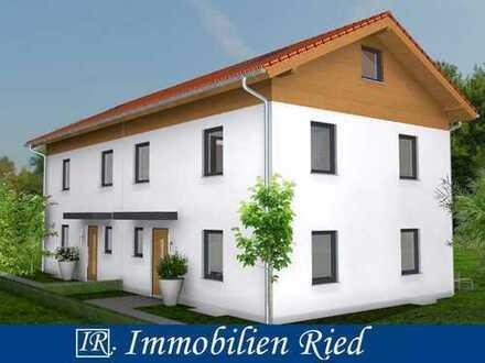 Neubau einer gehobenen Doppelhaushälfte mit Südgarten und vorzüglicher Ausstattung in Hausham