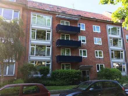 Kiel – Schillerstr. 20 - Hübsche 3 Zimmer Wohnung am Schrevenpark - Frei ab sofort !