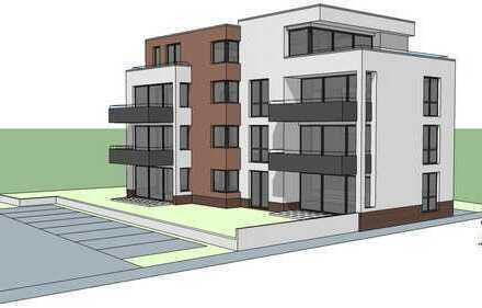hochwertige 2- Zimmer Neubauwohnung mit großzügigen Balkon und Einbauküche in Rüsselsheim am Main