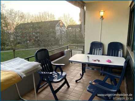 Kurzfristig beziehbare 4-Zimmerwohnung in ruhiger Wohnlage von Ettlingen!
