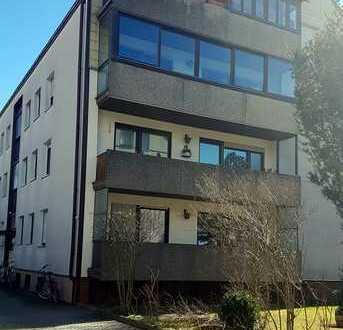 vermietete, gut geschnittene 2 Zi. Wohnung, mit großem Balkon, in gepflegter Wohnanlage