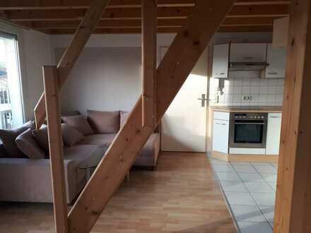 Gemütliche 2-Zimmer-Dachgeschosswohnung in Steinen