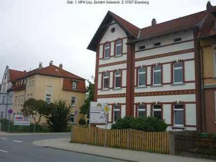 4-Raum-EG-Whg, provisionsfrei, kinder- u. haustierfreundlich, saniert in Eisenberg