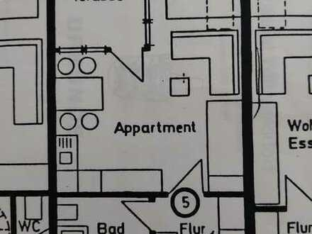 Schöne 1-Zimmer-DG-Wohnung in Wilhelmsdorf