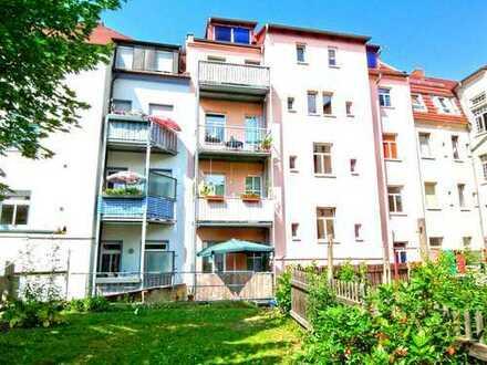 Moderne 3-Raum-DG-Wohnung - Bad mit Wanne und Dusche - in Bautzen