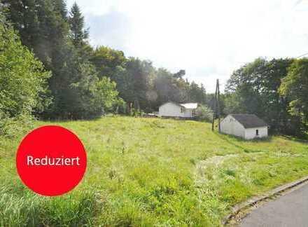 Kelberg: Voll erschlossenes, ca. 1.112 m² großes, Grundstück in selektierter Ortsrandlage