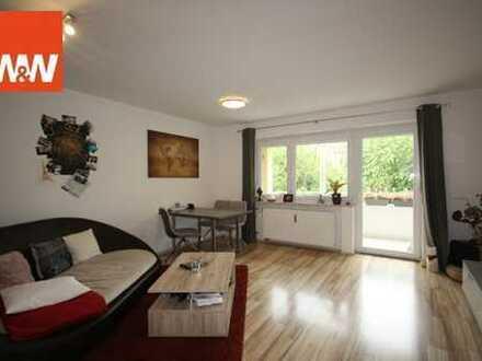 Renovierte 3 Zimmerwohnung mit Südbalkon in ruhiger Lage von Weilheim