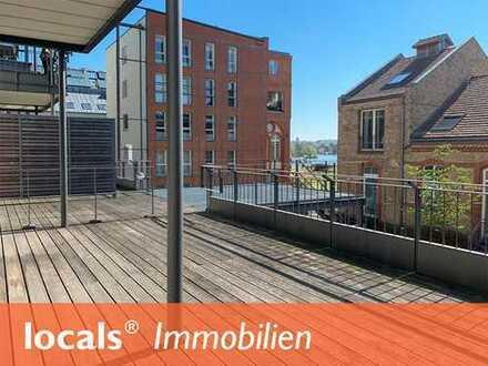 Hochwertige 2-Zimmer-Wohnung mit Sonnenterrasse und Havelblick!
