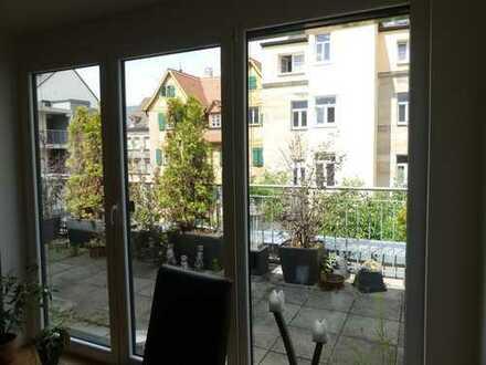 3 Zi TOP Whg mit Dachterrasse, fast Neubau im historischen Kern von Fürth