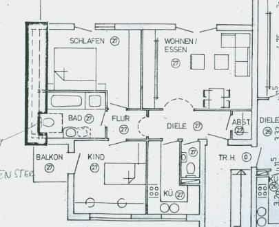 VERKAUFT!!! Wohnen mit Weitblick! Tolle 3-Zimmer-Eigentumswohnung in Knittlingen