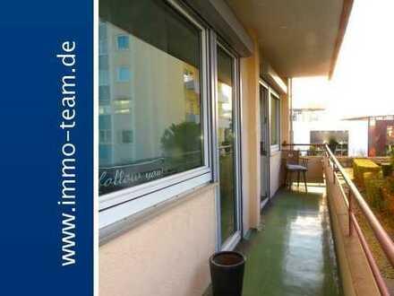 ++helle Wohnung mit großem sonnigen Balkon und Garage++