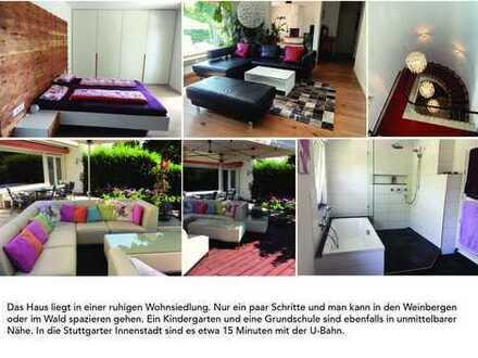 Schönes Haus mit sieben Zimmern in Stuttgart, Feuerbach für 1 Jahr zu vermieten