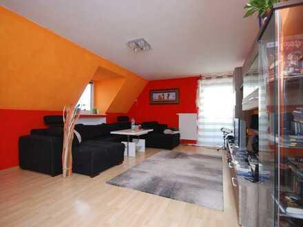 Helle 3-Zimmer-Dachgeschoss-Wohnung in Memmingen