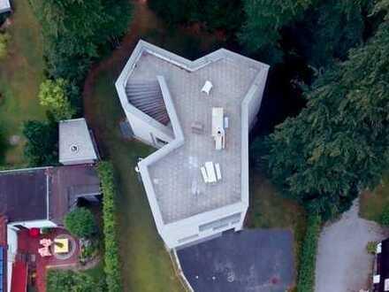 Außergewöhnliches Architektenhaus mit Seeblick, Wörthsee