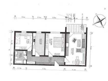 Schöne drei Zimmer Wohnung in Rhein-Neckar-Kreis, Schwetzingen