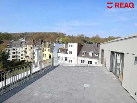 Über den Dächern Aachens: 3-Zimmer-Wohnung mit Panoramablick & einladender Dachterrasse!