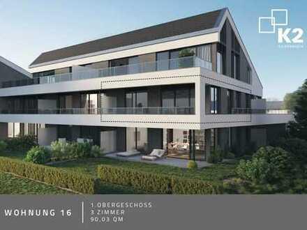 Erstbezug mit 2 Balkone: moderne 3-Zimmer-Wohnung in Gaimersheim