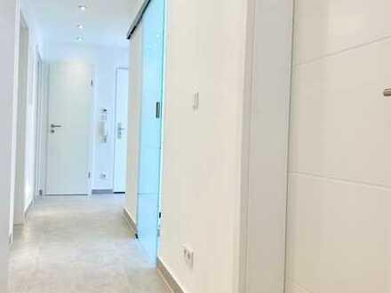 FAMILIEN-Wohnung in SENDLING, 4 Zimmer, TOP Grundriss, Balkon, ruhig ins Grüne, TOP Ausstattung