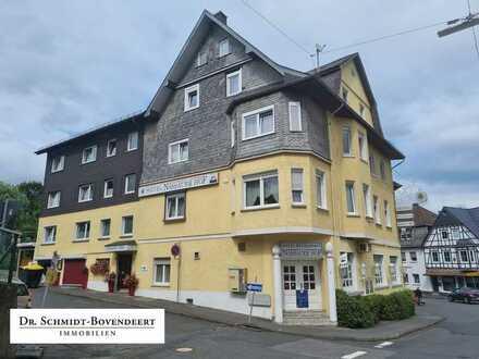 Interessante Anlage! Hotel, Gaststätte, Restaurant, Biergarten & Wohnungen! Absolute Toplage Stadt W