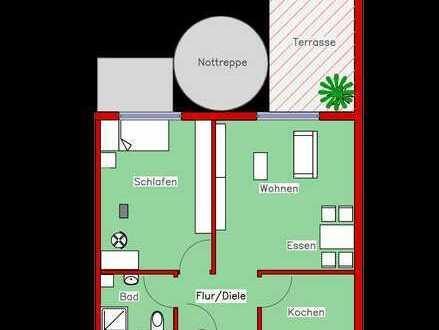 Erstbezug: Schönes Appartement mit Parkett, Einbauküche und Terrasse (L2)