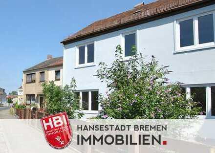 Oslebshausen / Attraktives Mehrfamilienhaus mit 3 sanierten Wohnungen auf großem Grundstück