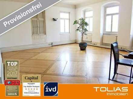 Barocker Flair im Herzen Ludwigsburgs - ideal für Wellness oder Kosmetik - alter Holzdielenboden & S