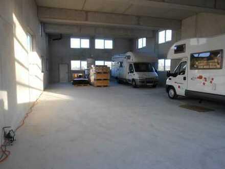 Neubau Halle 193 qm + 70 qm Hoffläche zu vermieten in Neckarwestheim zzgl. Büro möglich