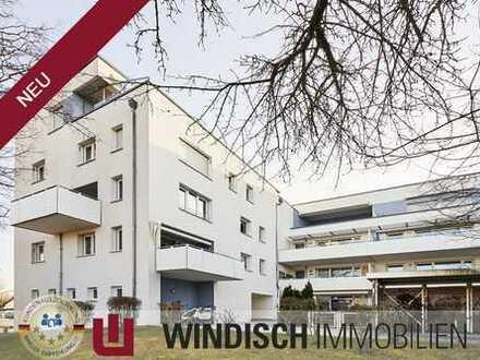 WINDISCH Immobilien - Große Vierzimmerwohnung mit Westbalkon, zentral in Gröbenzell