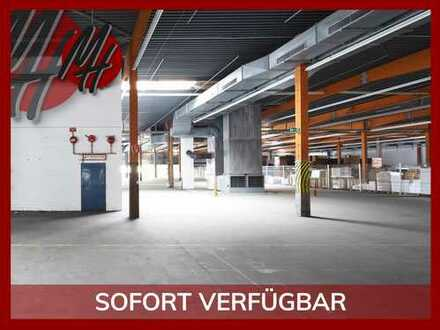VIELSEITIG NUTZBAR ✓ SOFORT VERFÜGBAR ✓ Lagerflächen (500 m²) mit kleinem Büro zu vermieten